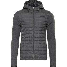 uk availability 505f4 692db The North Face M s Thermoball Gordon Lyons Hoodie Jacket TNF black TNF Dark  Grey Heather